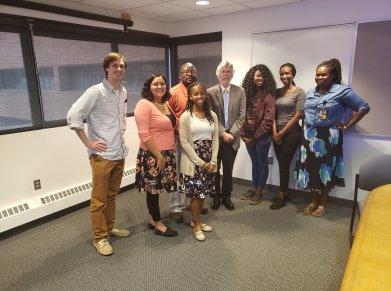 Meyerhoff Fellows with the ACS President Elect Luis Echegoyen (September 2019)